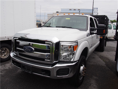 2016 F-350 Crew Cab DRW 4x4,  Stake Bed #267596 - photo 4