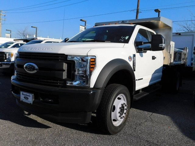 2018 F-550 Super Cab DRW 4x4,  Rugby Dump Body #268188 - photo 4