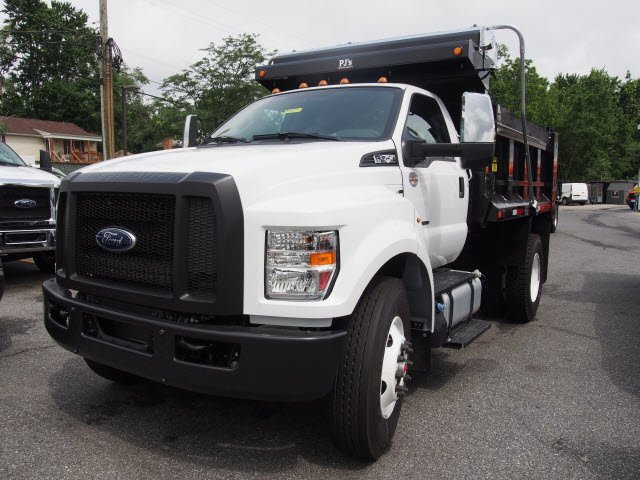 2018 F-750 Regular Cab DRW 4x2,  Godwin Manufacturing Co. 300U Dump Body #268816 - photo 1