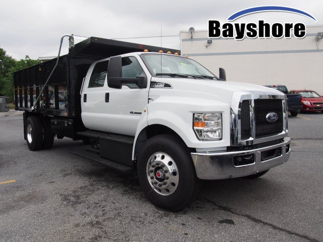 2018 F-750 Crew Cab DRW 4x2,  PJ's Truck Bodies & Equipment Landscape Dump #268871 - photo 3