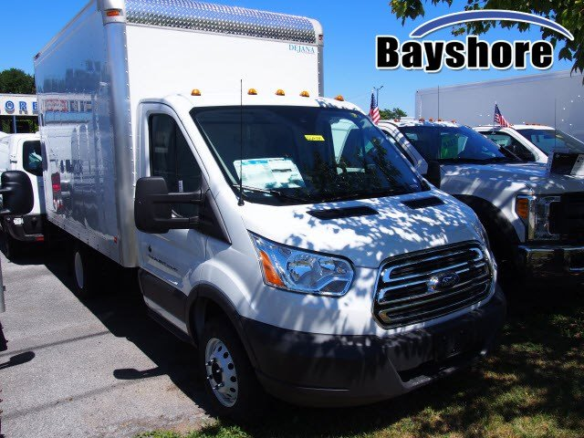 2018 Transit 350 HD DRW 4x2,  Dejana Truck & Utility Equipment DuraCube Cutaway Van #269425 - photo 1