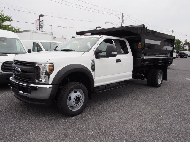 2018 F-450 Super Cab DRW 4x4,  Rugby Landscape Dump #269665 - photo 3