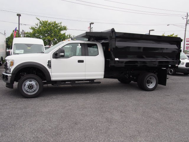 2018 F-450 Super Cab DRW 4x4,  Rugby Landscape Dump #269665 - photo 2