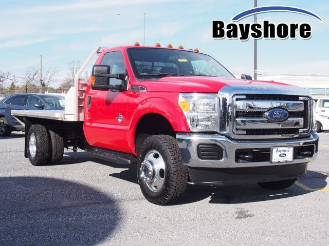 2016 F-350 Regular Cab DRW 4x4,  Platform Body #269679 - photo 1