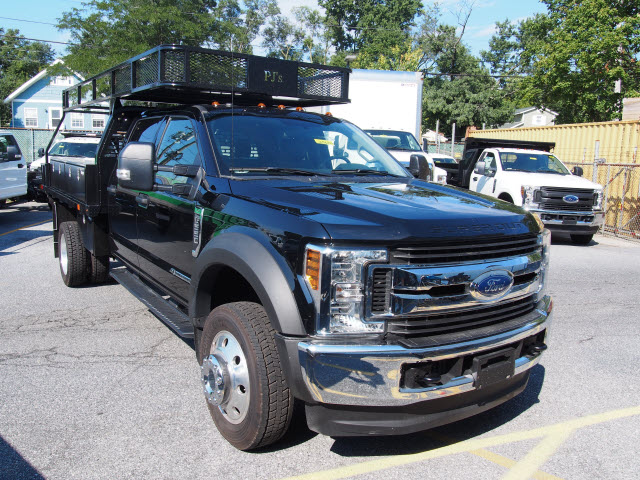 2018 F-550 Crew Cab DRW 4x4,  PJ's Truck Bodies & Equipment Contractor Body #269682 - photo 3