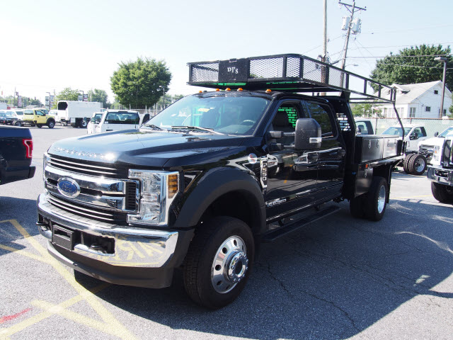 2018 F-550 Crew Cab DRW 4x4,  PJ's Truck Bodies & Equipment Contractor Body #269682 - photo 1