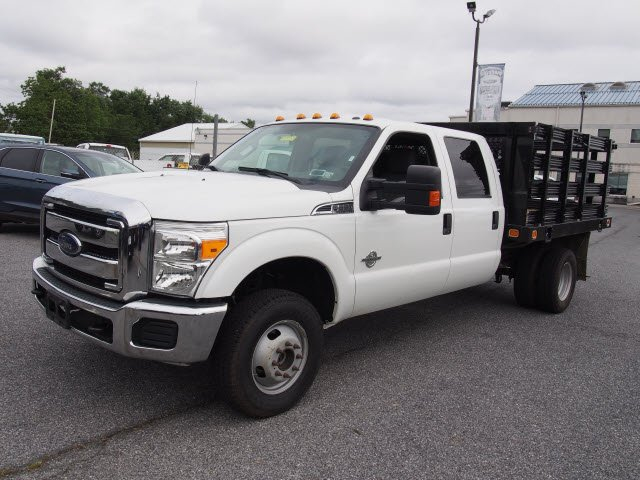 2016 F-350 Crew Cab DRW 4x4,  Stake Bed #270325 - photo 4