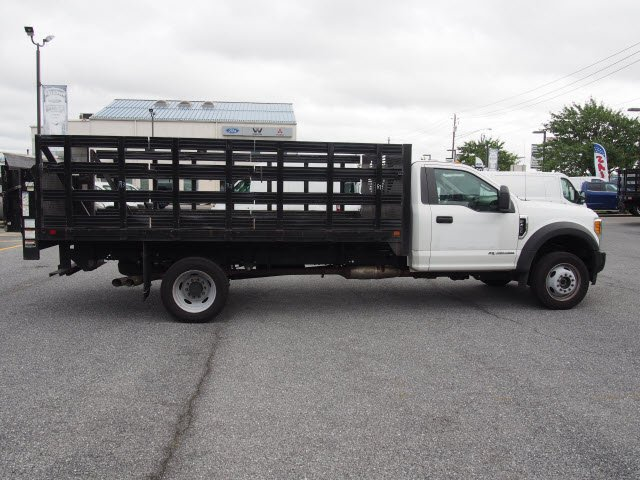 2017 F-450 Regular Cab DRW 4x4,  Stake Bed #270326 - photo 4