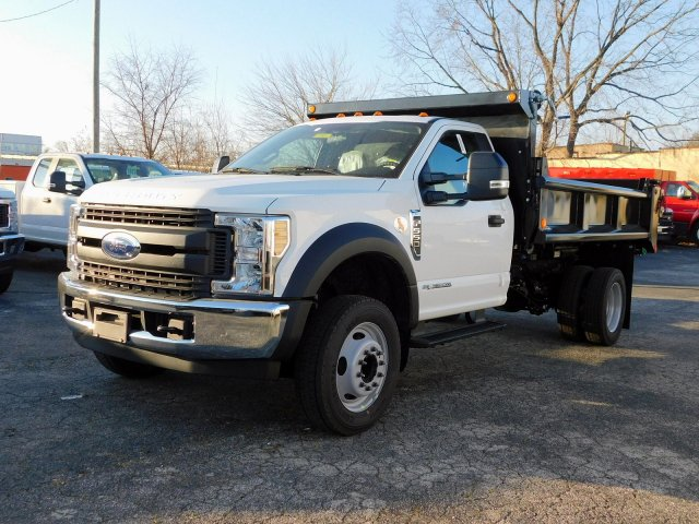 2019 F-550 Regular Cab DRW 4x2,  Galion Dump Body #271814 - photo 4