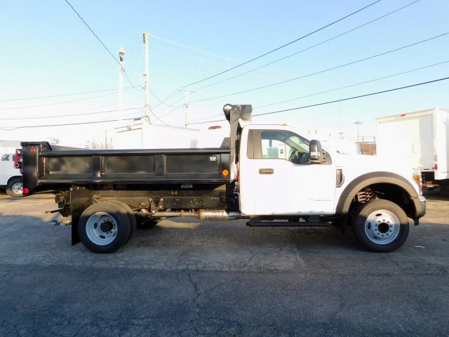 2019 F-550 Regular Cab DRW 4x2,  Galion Dump Body #271814 - photo 7