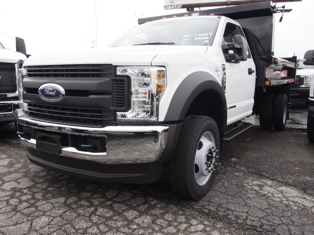 2019 F-550 Regular Cab DRW 4x4,  Reading Dump Body #272015 - photo 4