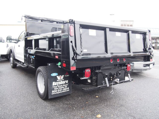 2019 F-550 Super Cab DRW 4x4,  Rugby Eliminator LP Steel Dump Body #272381 - photo 3