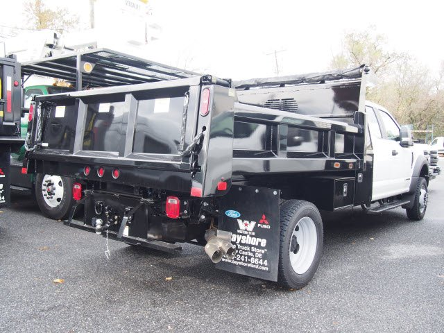 2019 F-550 Super Cab DRW 4x4,  Rugby Eliminator LP Steel Dump Body #272381 - photo 2