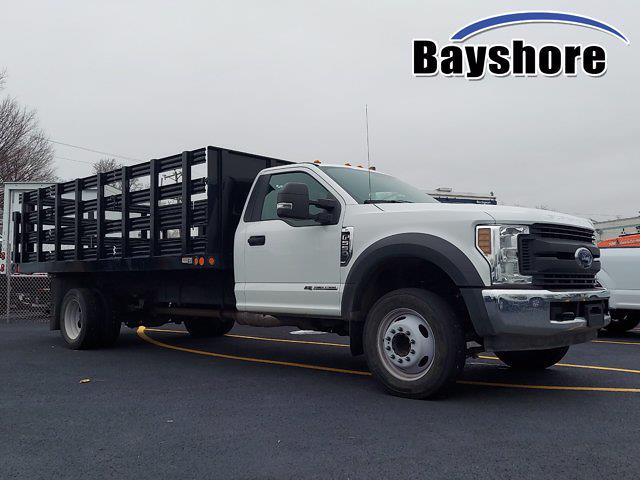 2019 Ford F-550 Regular Cab DRW 4x2, Reading Stake Bed #277053 - photo 1