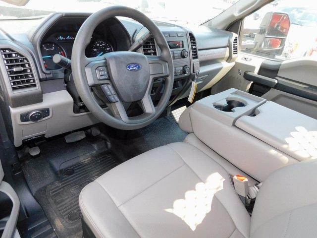 2019 F-550 Regular Cab DRW 4x2, Reading Platform Body Stake Bed #277053 - photo 7