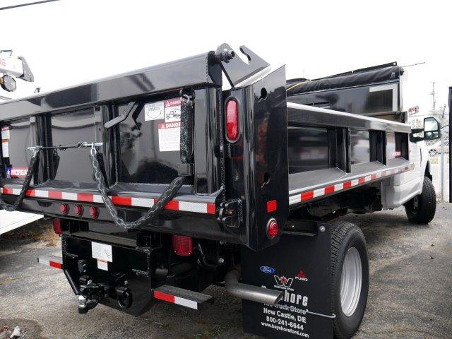 2019 F-350 Regular Cab DRW 4x4, Morgan Dump Body #277062 - photo 1