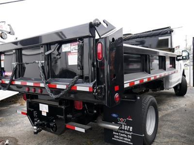 2019 F-350 Regular Cab DRW 4x4, Morgan Dump Body #277062 - photo 2