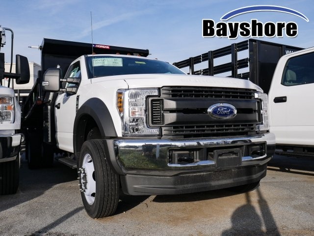 2019 F-450 Regular Cab DRW 4x4, Morgan Dump Body #279127 - photo 1
