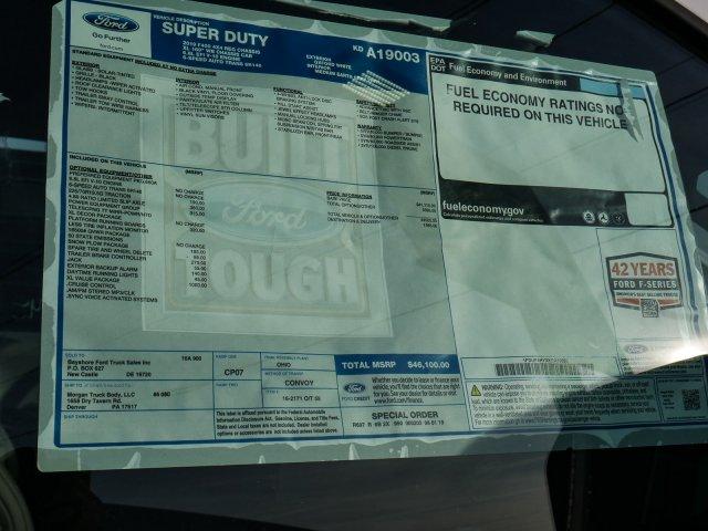 2019 F-450 Regular Cab DRW 4x4, Morgan Dump Body #279127 - photo 10