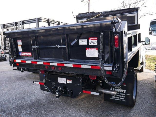 2019 F-450 Regular Cab DRW 4x4, Morgan Dump Body #279127 - photo 1