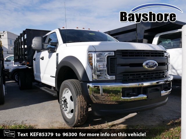 2019 F-450 Crew Cab DRW 4x4, Reading Stake Bed #279242 - photo 1