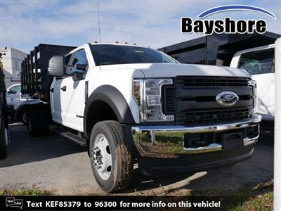 2019 F-450 Crew Cab DRW 4x4, Reading Steel Stake Bed #279242 - photo 1