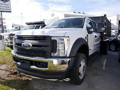 2019 F-450 Crew Cab DRW 4x4, Reading Steel Stake Bed #279242 - photo 4