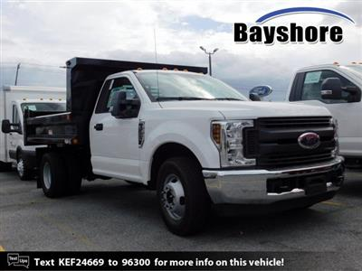 2019 F-350 Regular Cab DRW 4x2, Reading Marauder SL Dump Body #279932 - photo 1