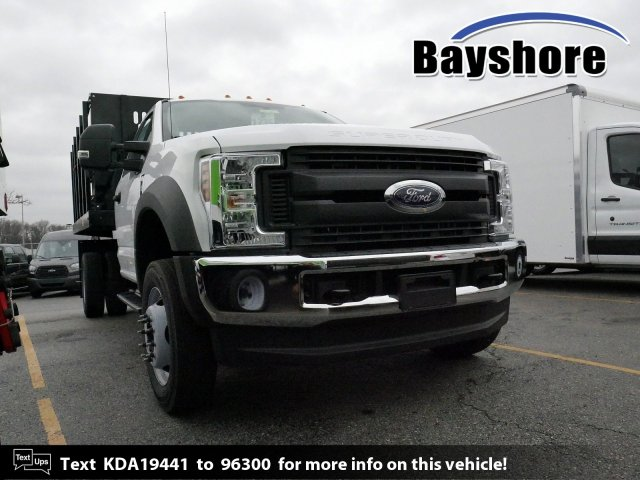 2019 F-450 Regular Cab DRW 4x4, Reading Stake Bed #281667 - photo 1