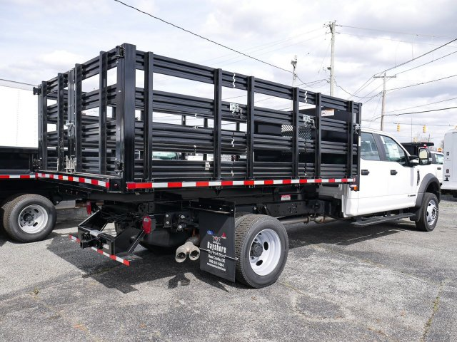 2019 Ford F-550 Crew Cab DRW 4x4, Morgan Stake Bed #282076 - photo 1