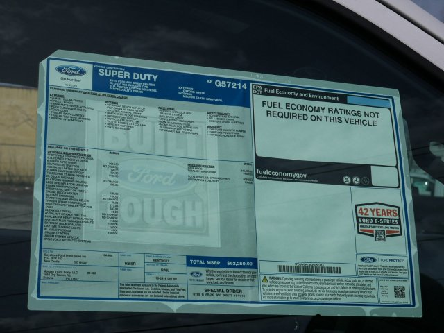 2019 F-550 Crew Cab DRW 4x4, Morgan Prostake Platform Body Stake Bed #282076 - photo 28