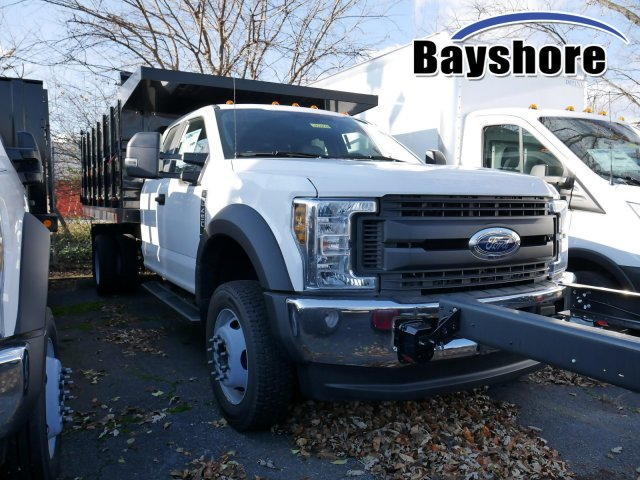 2019 F-450 Super Cab DRW 4x4, Rugby Versa Rack Landscape Dump #282108 - photo 1