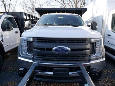 2019 F-450 Super Cab DRW 4x4, Rugby Versa Rack Landscape Dump #282108 - photo 3