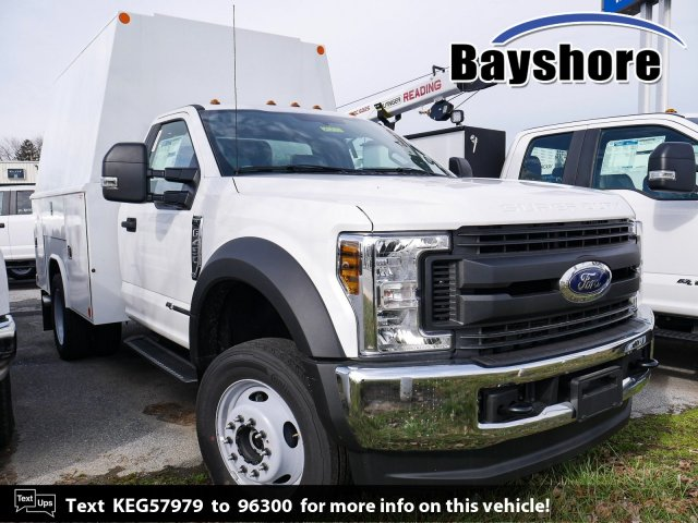 2019 F-450 Regular Cab DRW 4x4, Reading Service Body #282537 - photo 1