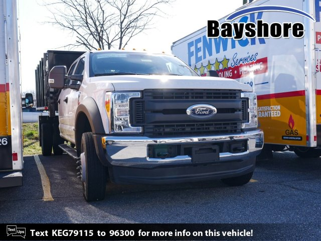 2019 Ford F-550 Crew Cab DRW 4x4, Morgan Stake Bed #282539 - photo 1