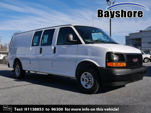 2017 GMC Savana 2500, Upfitted Cargo Van #283345 - photo 1