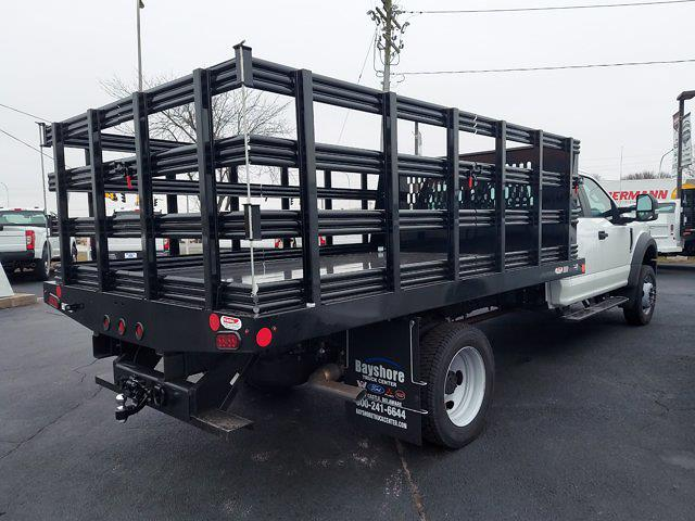 2021 Ford F-450 Super Cab DRW 4x4, Reading Steel Stake Bed #291554 - photo 2