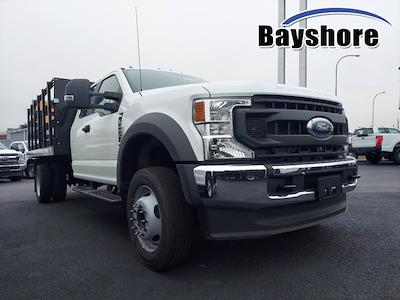 2021 Ford F-450 Super Cab DRW 4x4, Reading Steel Stake Bed #291554 - photo 1