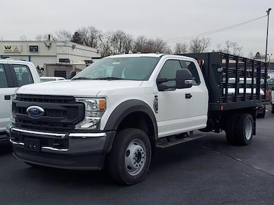 2021 Ford F-450 Super Cab DRW 4x4, Reading Steel Stake Bed #291554 - photo 4