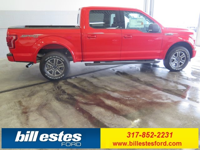 2017 F-150 Crew Cab 4x4 Pickup #T7602 - photo 9