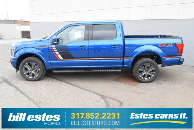 2018 F-150 Crew Cab 4x4, Pickup #T8085 - photo 7