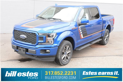 2018 F-150 Crew Cab 4x4, Pickup #T8085 - photo 1