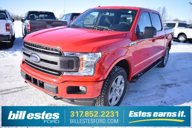 2018 F-150 SuperCrew Cab 4x4,  Pickup #T8250 - photo 1