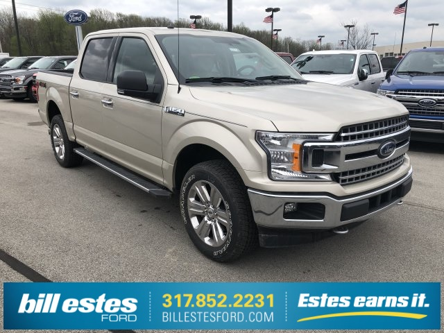 2018 F-150 SuperCrew Cab 4x4,  Pickup #T8278 - photo 4