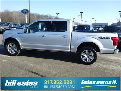 2018 F-150 SuperCrew Cab 4x4,  Pickup #T8309 - photo 2