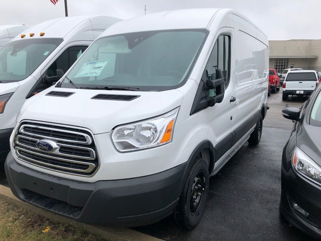 2018 Transit 150 Med Roof,  Empty Cargo Van #T8391 - photo 1