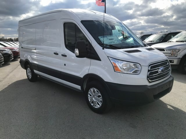 2018 Transit 150 Med Roof 4x2,  Empty Cargo Van #T8410 - photo 4