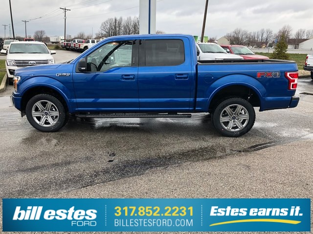 2018 F-150 SuperCrew Cab 4x4,  Pickup #T8432 - photo 8