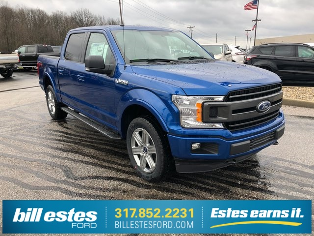 2018 F-150 SuperCrew Cab 4x4,  Pickup #T8432 - photo 4
