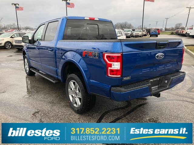 2018 F-150 SuperCrew Cab 4x4,  Pickup #T8432 - photo 2